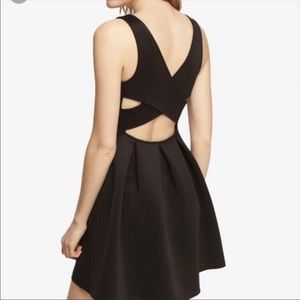 Express - Black crisscross back dress size 12